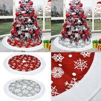 Decorações de Natal Saia de árvore Snowman Papai Noel Tapete Tapete Mat Xmas Decoração Natal Saias Ornaments Ano Decoração Navidad