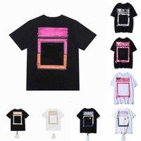 Sommer Herren Womens Designer T-shirts Lose T-Shirts Mode Marken Tops Mann S Casual Shirt Luxus Kleidung Straße Shorts Sleeve Kleidung Tshirts