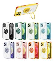 Dual Ring Kickstand Case New Armor Hard Cover for iPhone 13 12 11 Pro Max XS XR 6 7 8 Plus