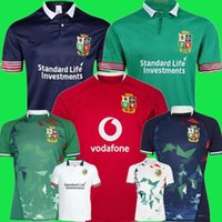 2020 2021 British Irish Lions Jersey 20 21 Lions britanniques Rugby Home Shirt Taille S-3XL