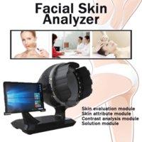 Espelho Mágico 3D Analisador de pele Portátil Digital Skin Analyzer Automático Derma Derma Scanner Máquina Facial Dispositivo De Salão De Salão De Beleza