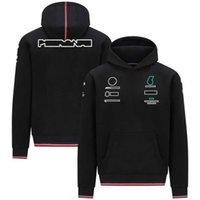 AMG PETRONAS Sudaderas F1 Fórmula uno Traje de carreras Sudaderas con capucha Equipo Personalizado Suéter Sweater Sportwears Brand CO Marca Ropa de trabajo Ciclismo Desgaste Sudadera W5O1