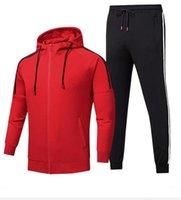 Herren Trainingsanzüge Sportbekleidung für Jacken mit Trainingsanzug Langarm Casual Jogger Hosen Anzug Kleidung 20 Arten 2-teilig Set Asian Größe Weitere Optionen, um mich Kontakt auf mich zu kontaktieren