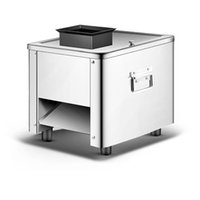 Kommerzielle Desktop-elektrische Fleisch-Fräser-Maschine zum Schneiden von Gemüse-Shreds gewürfelten Schinken Shiitake-Pilzscheiben 220V 110V