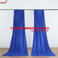 Party Decoration Good Looking Panel Poly Backdrop Curtain \ Stage Background Drapery Backdrops For Wedding Event