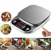 3Kg 5Kg 10Kg LCD Portable Mini Electronic Digital Scales Pocket Case Postal Kitchen Jewelry Weight Tea Baking Scale Household DHF10188