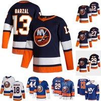 Mathew Barzal New York Islanders Jersey Anders Lee Anthony Beauvillier Brock Nelson Jean-Gabriel Pageau Josh Bailey Casey Kyle Palmieri Cizikas Austin Czarnik Mike