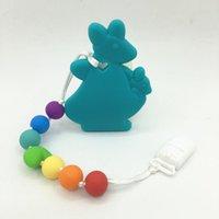 Fopspenen # BPA Gratis Siliconen Kangaroo Tandjes Fopspeen Clip Baby Carrier Accessoire Giraffe Bijtring Toy Chew