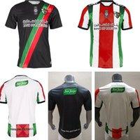 2021 2022 Palästina Fußball Jersey 21 22 Thailändische Qualitätsübersicht Palästinenser Palästinenser Palästino Rosende Fussball Hemd