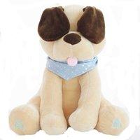Kommen Sie an, plüsch spielzeug gefüllte tiere puppe musik hund pädagogische anti-stress elektrisch für baby geschenk 210724