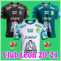 2020 2021 Club Leon Soccer Jersey 20/21 Liga MX Leon Home Продают третий белый футбол рубашки CamiSetas de futebol Таиланд