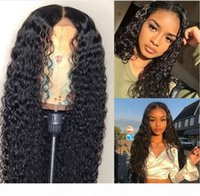 14-28 inç Afrika tarzı peruk, kadın peruk, siyah uzun kıvırcık saç, afrika küçük kıvırcık dalgalı ön dantel yüksek sıcaklık fiber saç peruk