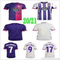 2020 2021 Jerseys de football VALLADOLID TONI VILLA JAVI MOYANO ENS UNIAL OSCAR PLANO FEDED S. R. Alcaraz Custom Adult Football Shirt de football