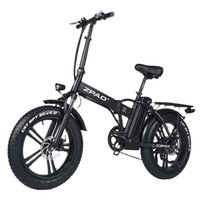 ZPAO Electric Bike Electric Mountain Bike 500 / 750W 48 В взрослый велосипед Max 40 км / ч Электрический велосипедный пляж E-Bike Складная Ebike