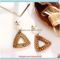 Dangle & Chandelier Jewelrysimple Metal Acrylic Geometric Creative Earrings Ladies Jewelry Gift Wholesale Drop Delivery 2021 38R0B