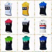 Ineos Team Radfahren Sleeveless Jersey Weste Pro Bike MTB ROPA CICLISMO Herren Radfahren Maillot Kleidung Atmungsaktives Fahrrad 31539