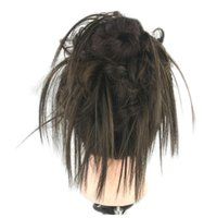 """046 Synthetic Ponytail Long Straight Hair 16"""" 22"""" Clip Ponytail Hair Extension Blonde Brown Ombre Hair Tail With Drawstring"""