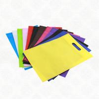 UPS Бесплатная доставка 7 дней доставки подарок нетканый пакет для хранения / рекламный ручка нетканая ткань для моды / хозяйственная сумка