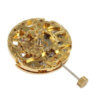 Repair Tools & Kits Automatic Mechanical Movement Hollow Three-Needle Gold Machine For 8205 8215 Watch Accessories