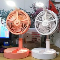 2021 Portable folding retractable electric fan USB charge 72...