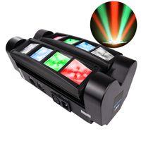 LED Spider Light Effect Big Dipper LM30A 8X3W RGBW DJ Disco Lights