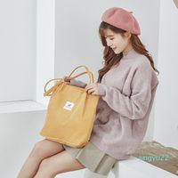 Designer-Women Solid Corduroy Shoulder Bags Shopping Bag Tote Package Crossbody Bags Purses Casual Handbag For Women Bookbag