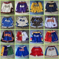 DetroitPistão Atlanta.Hawk Chicago.Bull OrlandoMagic San Jersey AntonioSpurs apenas Basketball Shorts Don 2021 Novo