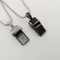 Collane pendenti 2021 Arrivo 316L collana in acciaio inox collana piena pietre cz pietre di alta qualità uomini donne moda moda