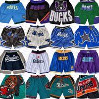 "Orlando ""Magic"" Minnesota ""Timberwolve"" Indiana ""Pacers"" Phoenix ""Soleils"" Charlotte ""Charlotte"" Hornets ""Just Basketball Shorts Don nouveau pas cher"