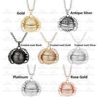 Pendant Necklaces Magic Po Memory Floating Locket Necklace Plated Angel Flash Box Fashion For Women