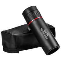 Webcams 30*25 Optical Zoom Field Glasses Telescopes Clear View Red Film Hunting HD Binoculars Adjustable Focal Length Or 7X Monocular