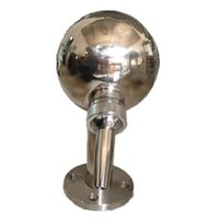 1pc Spa equipment, stainless steel spa accessories, spherical ...