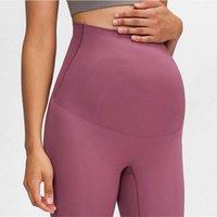 Mulheres Yoga Leggings Leggings Grávidos Fitness Calças Interior Maternidade Ginásio Roupas Alto Cintura Gravidez Leggings