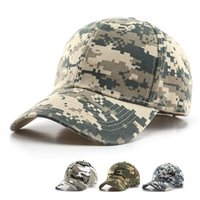 Outdoor Hats Camouflage Sport Caps Tactical Baseball Hat Military Camo Hiking Casquette Hunting Cap Fashion