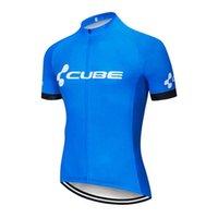 2021 CUBO Equipo Hombre 100% Poliéster Ciclismo Jersey Summer Mangas cortas de secado rápido MTB Camisa de bicicleta MTB Ropa deportiva al aire libre ROUPA CICLISMO S21030106