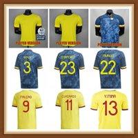 Oyuncu Sürümü 2021 2022 Kolombiya 9 Falcao Futbol Formaları 19 Muriel 5 Barrios 6 Tesillo 3 Medine 2 Zapata 1 Ospina 12 Vargas Futbol Gömlek