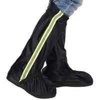 신발 액세서리 신발 커버 남성 여성 커버 옥스포드 헝겊 방수 장화 두꺼운 내마모성이 아닌 실외 여행 케이스 재사용 가능