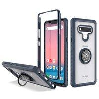 LG Stylo 6 K51 Motorola موتو G Stylus Hybrid Shockproof Armor Magnetic 360 Ring Case for iPhone SE2 الغطاء الخلفي