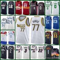 Лука 77 ДаллаMaverick Doncic Maverick Dwyane 3 Wade Lebon 23 James Tyler 14 Herro Dwyane 3 Wade Баскетбол Джерси 2020 2021 Новый
