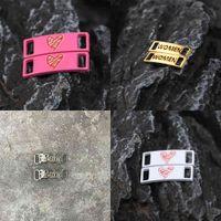 Shoelaces Buckle Shoelace Metal Accessories Lace Lock DIY Sneaker Kits AF1 Shoe Decorations Iron Plate 210728