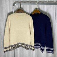 Europa Frauen und Herren Designer Pullover Retro Classic Luxus-Sweatshirt Männer Armbrief-Stickerei Rundhals-Komfortables Hochwertiger Jumper