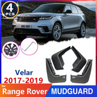 Mud-Black Fender MudGuards для Range Rover Velar L560 2017 2018 2019 MudFlaps Splash Grandivers Lats Auto Accessistics Наклейки
