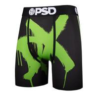 PSD Long Hommes Boxer Sous-vêtements Hommes Soie de glace Hip Hop Boxer Short Boxer Boxer Box-Boxers Boîtiers Brand Sexy Sleet Jambes Panties Homme LJ200922