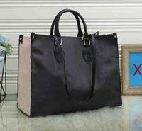 new high quality fashion print leopard embossed shoulder bag designer handbags Ladies handbag women shop bags wallet 44571#41cm