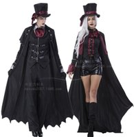 Pearl love 2021 Halloween male and female role play movie Vampire Costume Cosplay couple Costume_yw