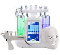 Hotsale 9 in 1 Acqua Hydrafracial Oxygen Jet Aqua Peel Beauty Macchina per la pelle Ringiovanimento della pelle Pulizia profonda per salone / spa / Casa