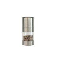 Stainless Steel Black Peppers Grinder Pepper Coffee Beans Manual Grind Tools Kitchen Accessories Mills Salt Spice Supplies Grinders OWF10313