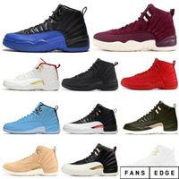 Yeni Stil En 12 Koyu Gri 12 S GS Sıcak Punch 2020 FIBA Ters Oyunu Kraliyet 12 Kutusu Basketbol Ayakkabı Erkekler Ücretsiz Kargo