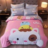 Bedding Sets Cute Kids Set Quilt Duvet Cover Princess Girl Child Bed Linen Comforter Sheet Bedspreads For Children's Single Double