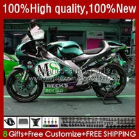Corpo da motocicleta para Aprilia RS-250 RS RS250R 95 96 97 24no.154 RSV-250 RSV250R RSV250 1995-1997 RSV250RR RS250RR Ciano Preto 1995 1996 1997